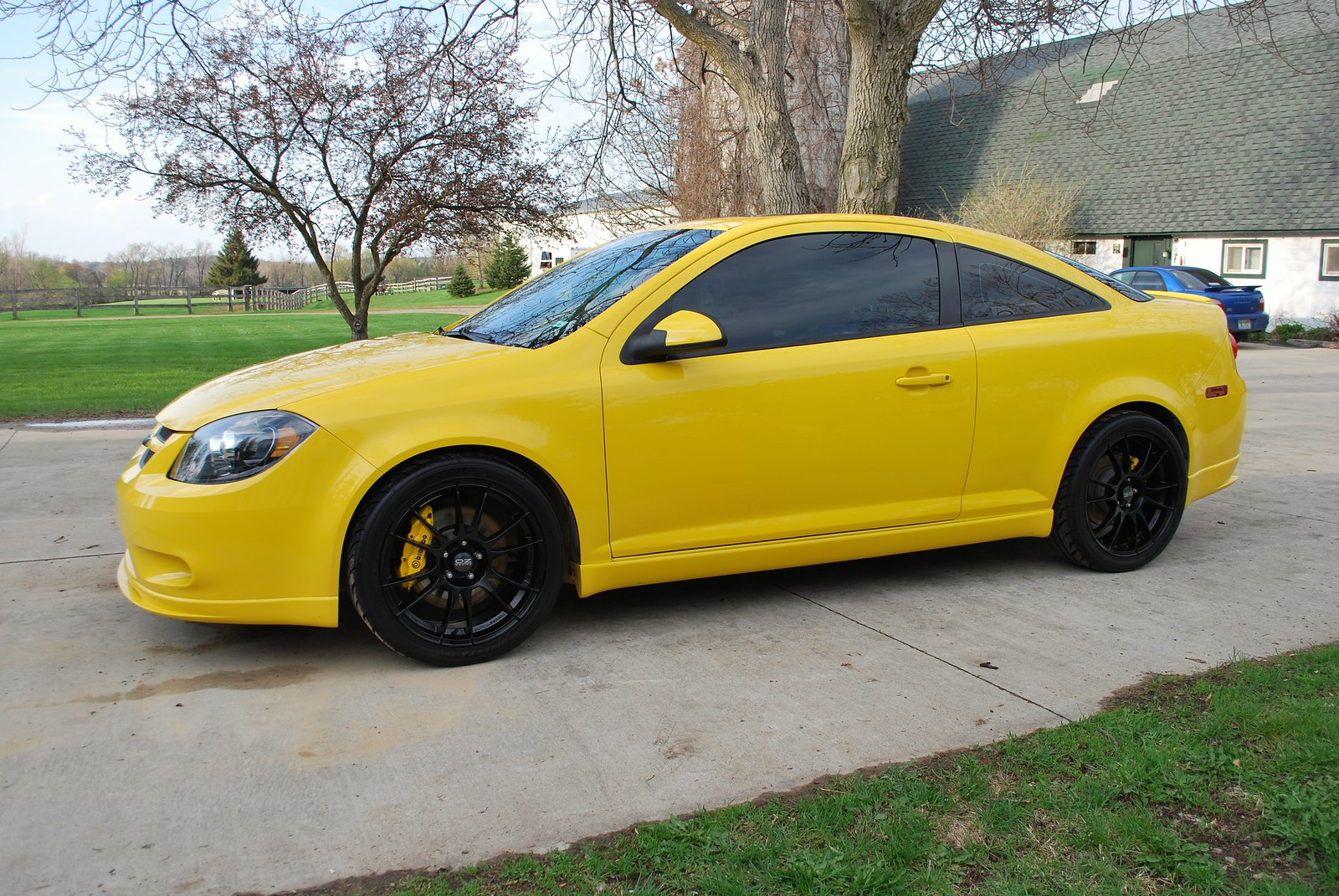 for sale 2009 cobalt ss turbo in rally yellow cobalt ss network. Black Bedroom Furniture Sets. Home Design Ideas