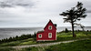 Little Red House @ Tors Cove, Newfoundland by B.E.K.