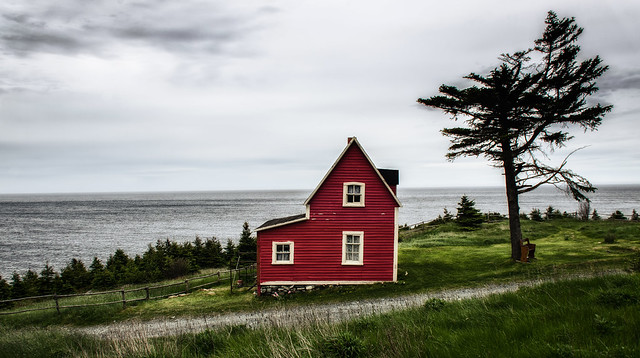 Little Red House @ Tors Cove, Newfoundland