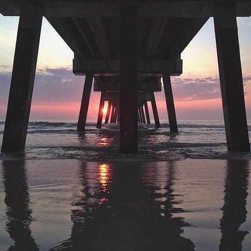 ocean sun reflection beach sunshine sunrise square concrete florida squareformat jacksonville fl jax homesweethome supports jaxbeach peaking thepier jaxbeachpier pierpressure iphoneography instagramapp uploaded:by=instagram mosesedge vscocam ilovejax igersfl vscophile igersjax voidlive vscopure 904happyhour shootjax
