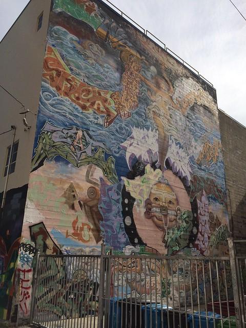 Graffiti artwork, The Mission
