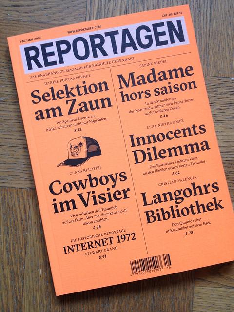 Reportagen 16