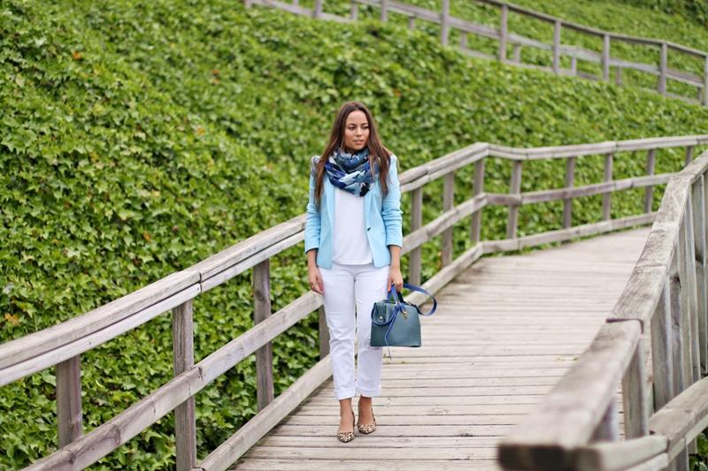 mustang, blazer azul