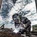 The welder by Vikanfoto Per-erik larsen