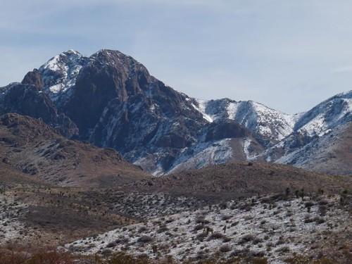 Soledad Canyon area in winter