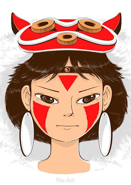 La princesa Mononoke // Mononoke princess