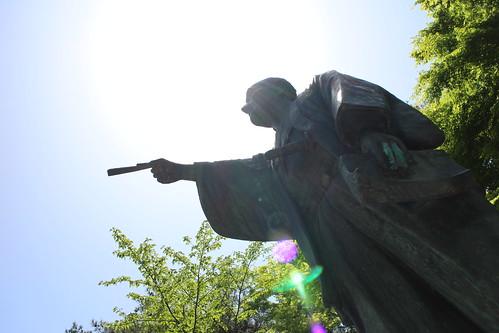 上杉鷹山公像