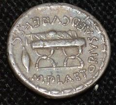 Sport on Roman coins Politics