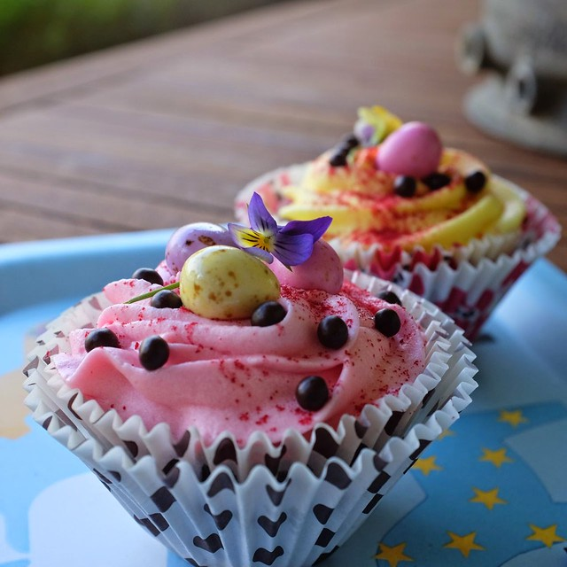 DSCF1343 Easter Cupcake Close up