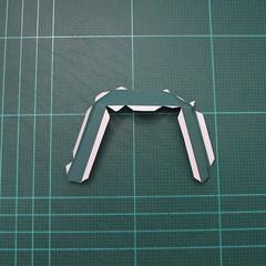วิธีทำโมเดลกระดาษตุ้กตาคุกกี้รัน คุกกี้รสสตอเบอรี่ (LINE Cookie Run Strawberry Cookie Papercraft Model) 017