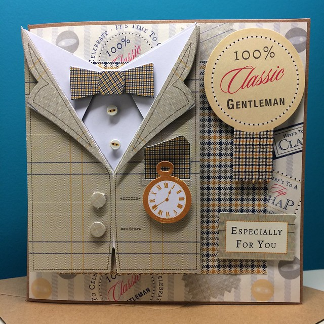Heritage Press suit decoupage 2