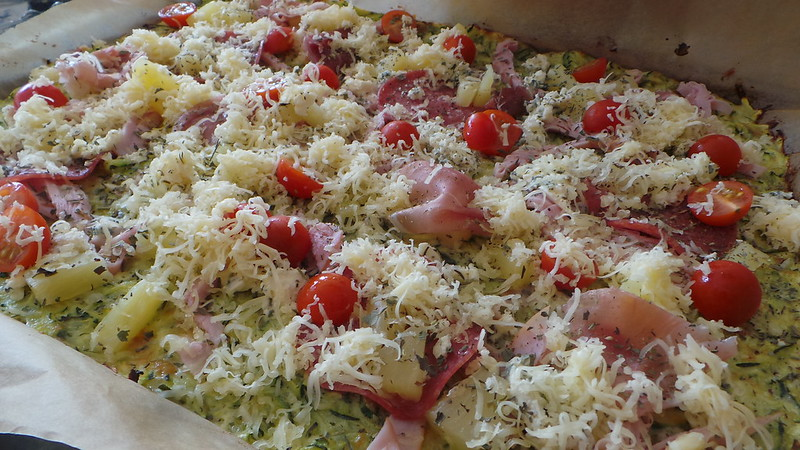 Zucchinipizza