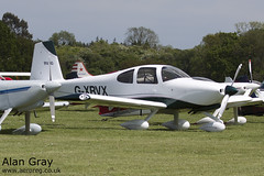 G-XRVX VAN'S RV-10 PFA 339-14592 PRIVATE - Sywell - 20130601 - Alan Gray - IMG_9306