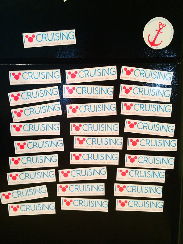 Disney Cruise Magnets