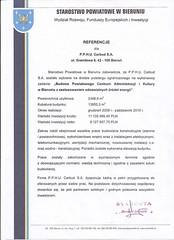Referemcje Starostwa Powiatowego w Bieruniu 2010r.