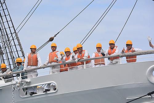Kaiwo Maru crew shaka