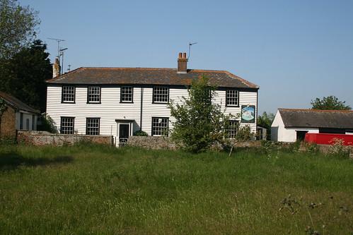 The former George and Dragon pub, Foulness Island