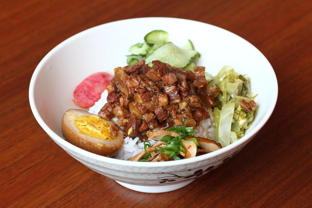 JEM Food Trail: Lee's Taiwanese Braised Pork on rice