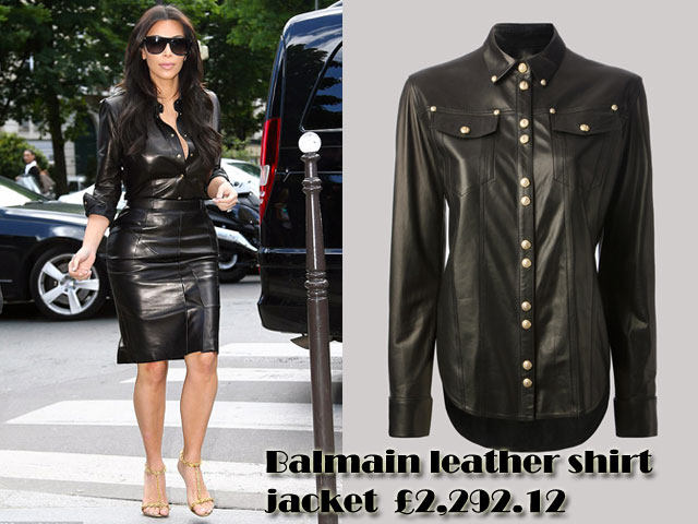 Leather-on-leather-trend, Tom Ford sandals, Balmain leather shirt jacket, Balmain black leather shirt jacket, black leather shirt, black racy leather pencil skirt, black racy skirt, leather pencil skirt, sunglasses, leather on leather look, leather on leather outfit, leather head to toe, leather outfit, head to toe leather look