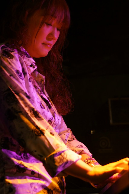 Tangerine live at Outbreak, Tokyo, 22 May 2014. 129