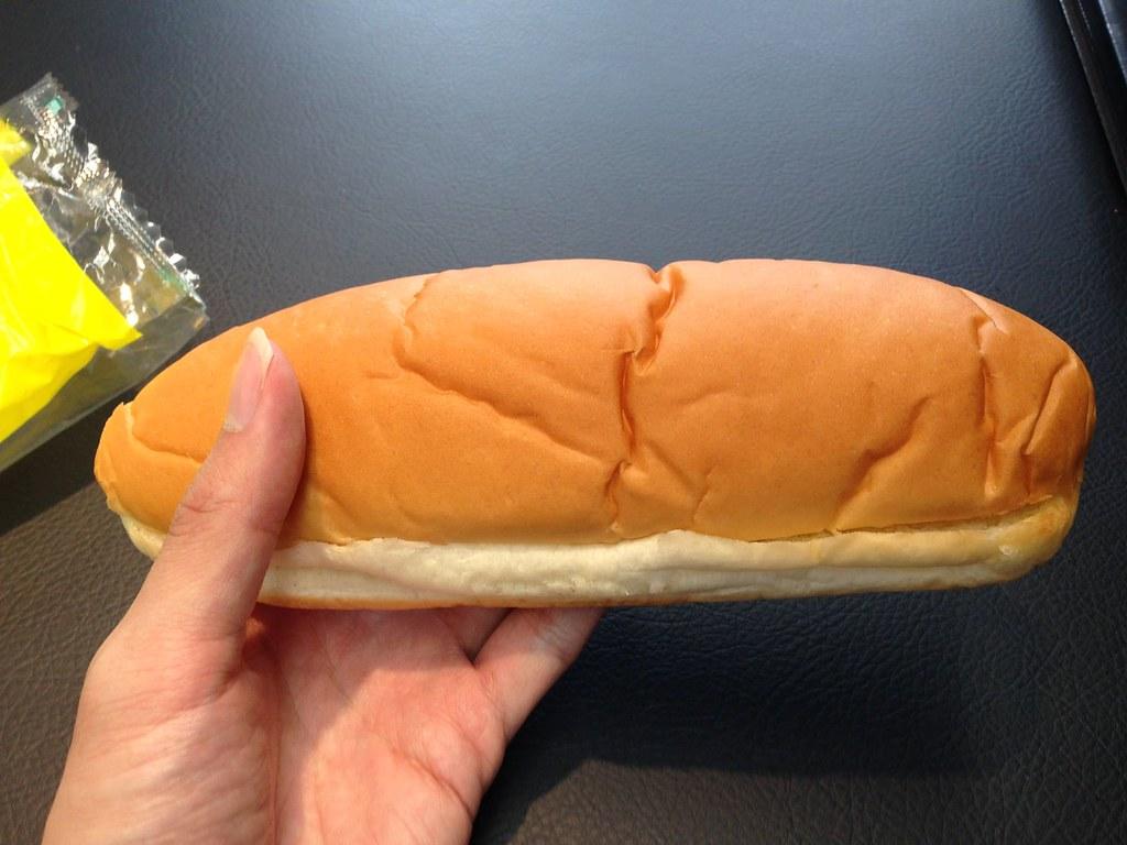 普通のコッペパン