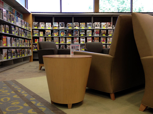 Magazine Area @ Bloomingdale Library