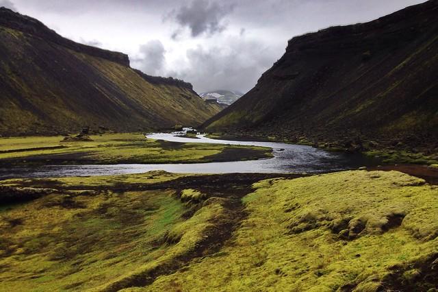 Eldgjá: El cañón de fuego. Islandia.
