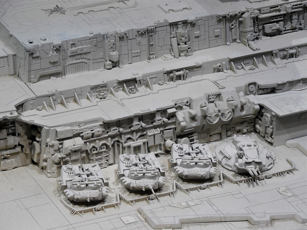 Imperial Star Destroyer model detail