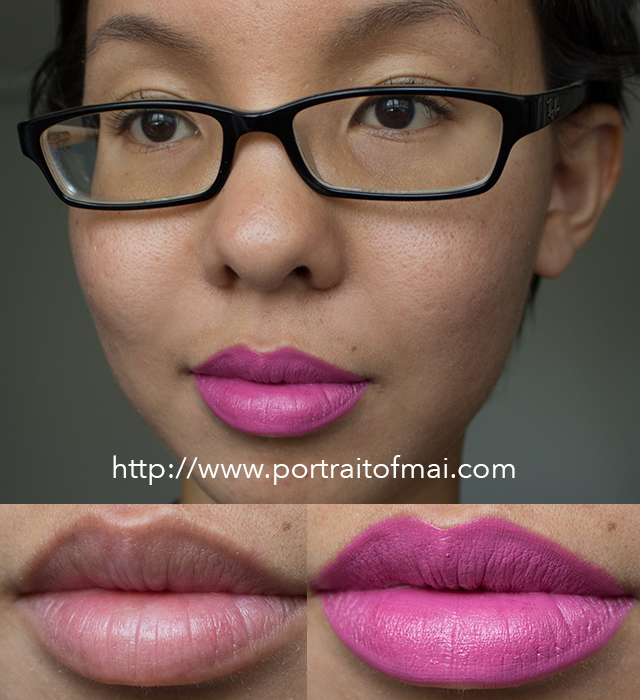 Limnit Lipsticks The Fuchsia is Now