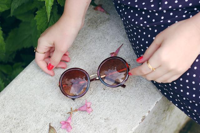 Boohoo Round Sunglasses