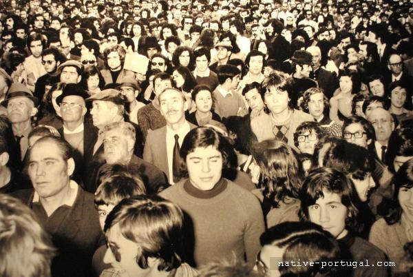 17 - 25 апреля 1974 года - революция гвоздик в Португалии - Каштелу Бранку