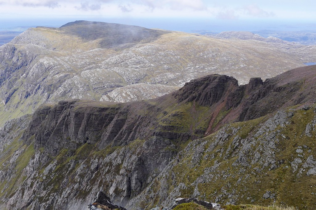 North-west ridge of A' Mhaighdean