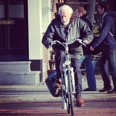 #Amsterdam #cycling #man
