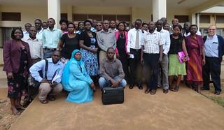 Uganda Smallholder Pig Value Chains Development (SPVCD) project feedback workshops in November 2013