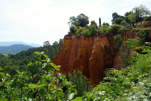 Red ochre hills of Roussillon
