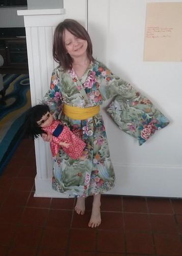 Moira's kimono