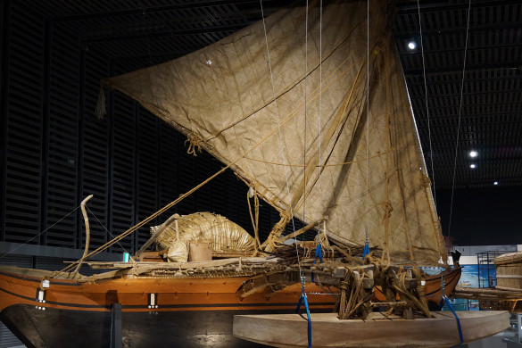 Oceanic Culture Museum: Boat