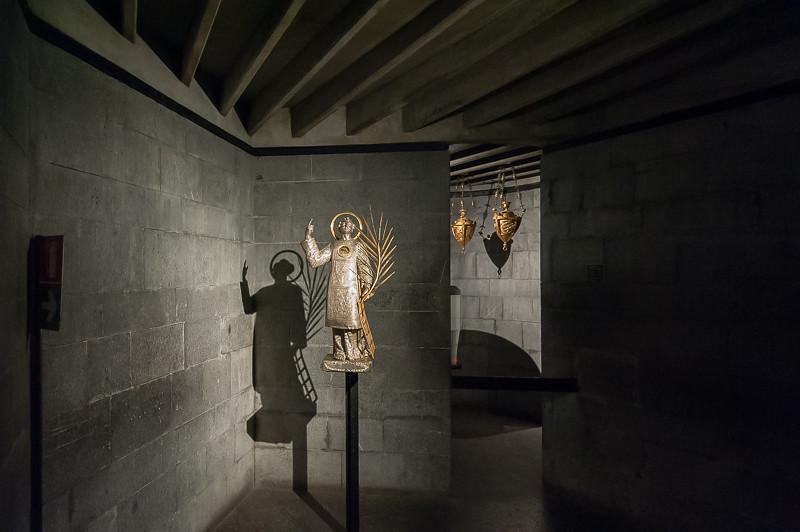 Statua-reliquario di S.Lorenzo, Museo del Tesoro di San Lorenzo, Genova