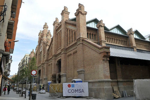 Inauguration of the Sants Market, remodelled by COMSA