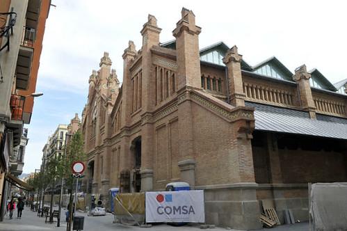 Inauguración del mercado de Sants, remodelado por COMSA