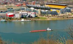 Barge on the Ohio