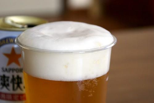 ビールの注ぎ方
