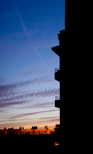 morning blue sky building vertical sunrise project 50mm nikon sharp 365 nikkor 50 catchy d610