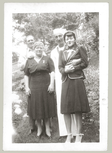 Group with sailor
