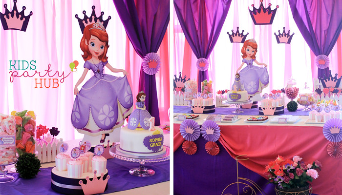 Sofia the First Themed Party | Sophia's 1st Birthday