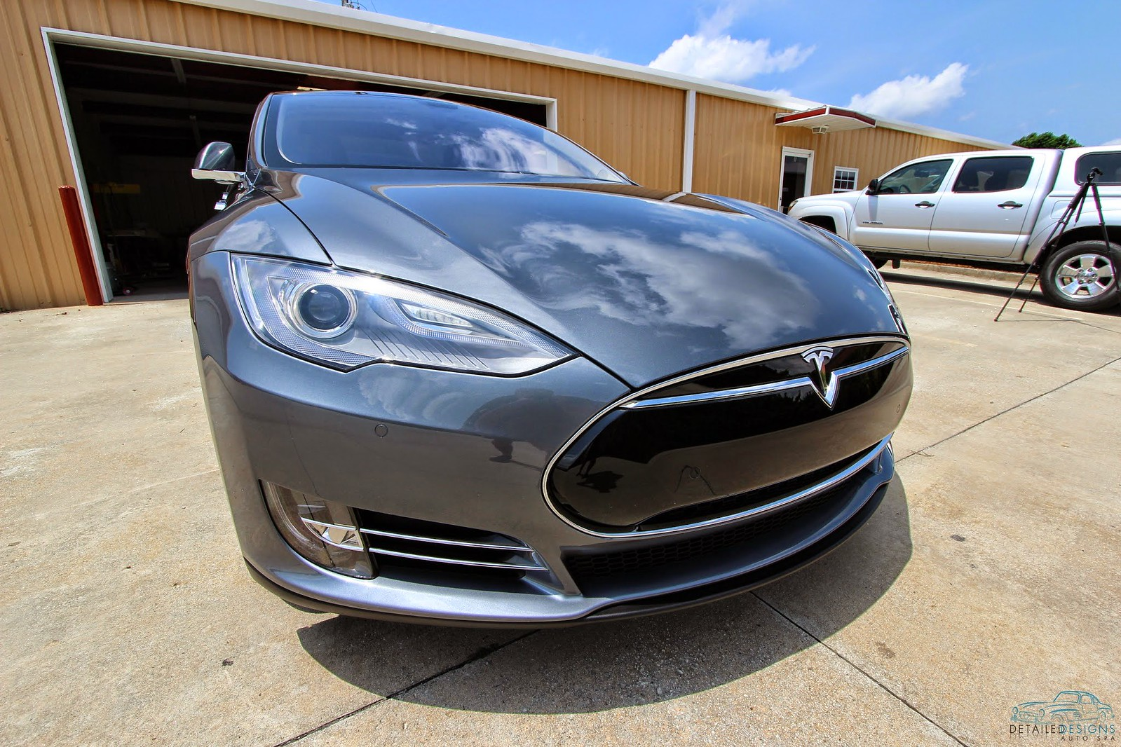 Tesla Model S Clear Bra Modesta BC-04 Atlanta Detailed Designs Auto Spa