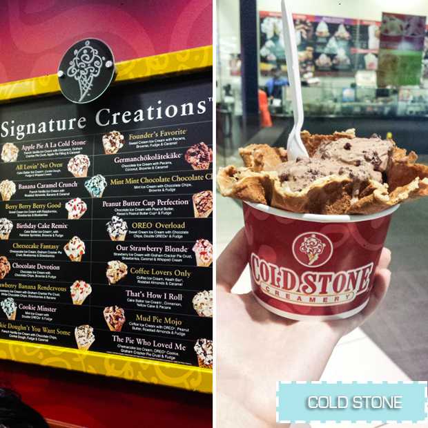 stylelab travel blog NYC food Cold Stone Creamery