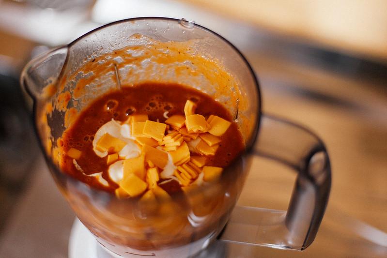 Sopa de Tomate e Cheddar