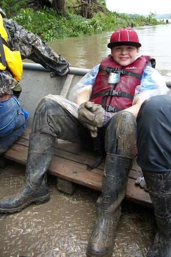 Leavenworth & Weston Missouri River Clean-up 6-7-14