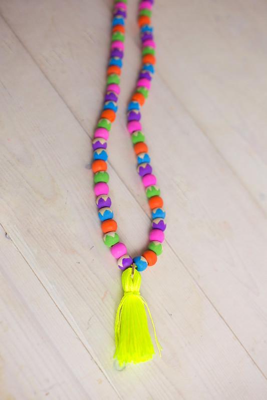 DIY Tassel Necklace #PaintYourWay